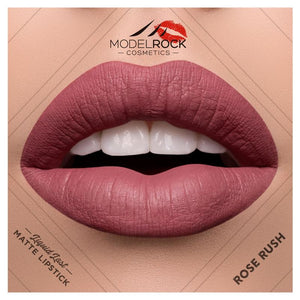 "Model Rock Matte Liquid Lipstick ""Rose Rush"""
