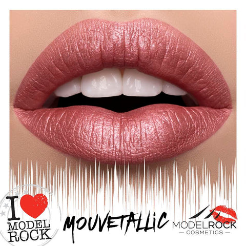 "Model Rock Lipstick Mega Modern Metals - ""Mauvetallic"""