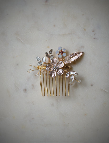 Autumn Bridal Hair Comb
