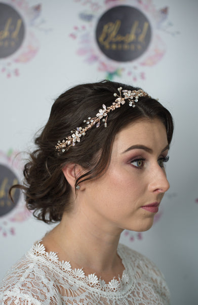 Luna Bridal Hair Vine