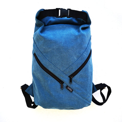 AgungBag canvas azul