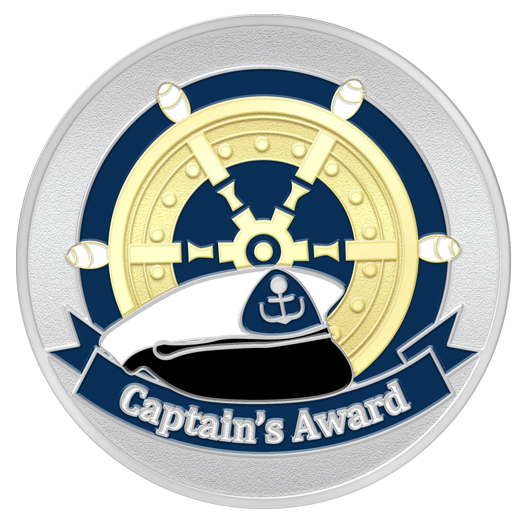 Captain's Thank You Spot Award Coin