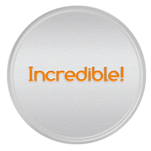 INCREDIBLE Spot Award or 3rd Month Service Anniversary Coin