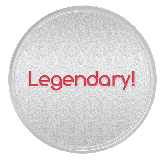 LEGENDARY Spot Award or 3rd Year Service Anniversary Coin