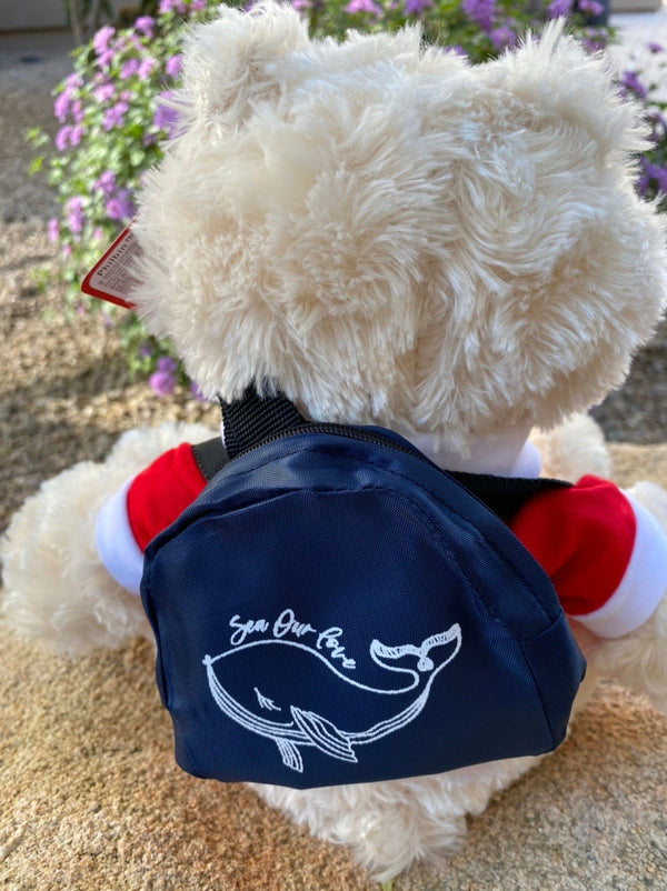 SEA OUR LOVE™ Teddy Finnagin Ready to Sail!