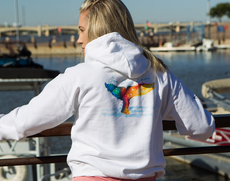 SEA OUR LOVE™ Love our Whales Hoodie