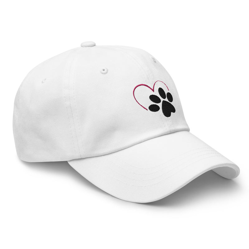 Love Paw Low Profile Hat