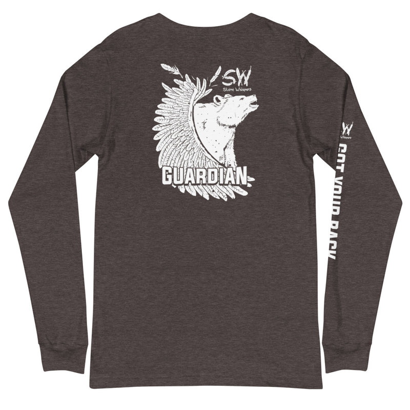 SILENT WHISPERS™ Grizzly Bear Long Sleeve