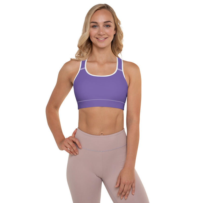 Ocean Waves Colors Sports Bra