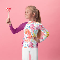 Jellyfish Kid's Rash Guard