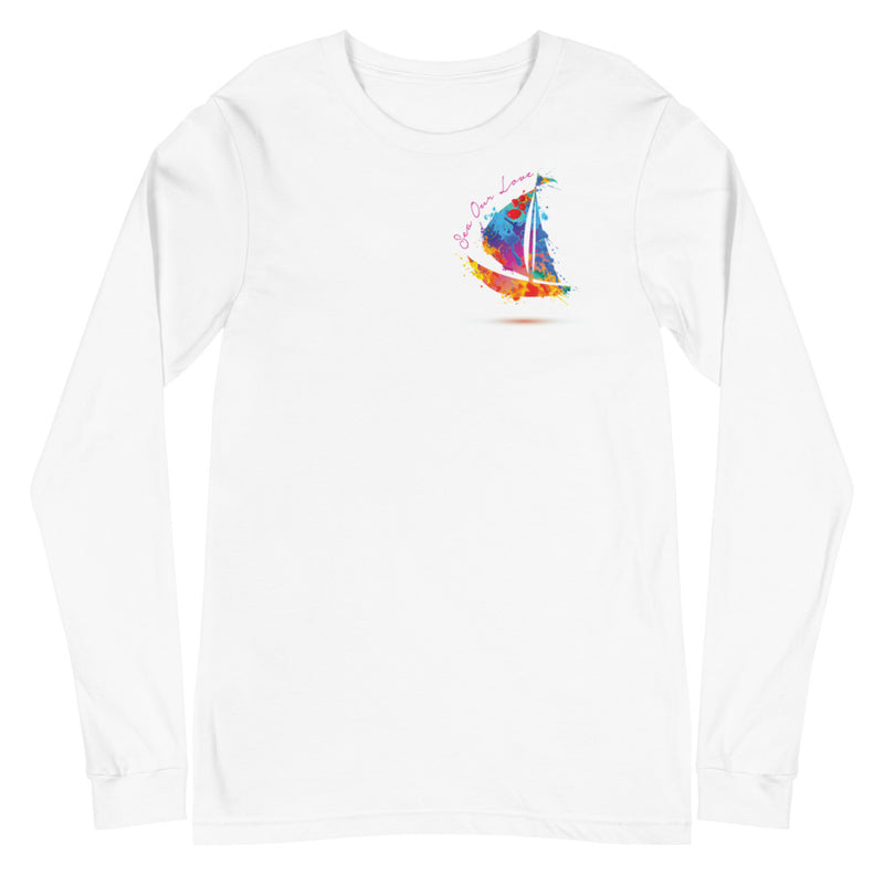 SEA OUR LOVE™ Paint Splash Long Sleeve