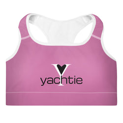 Yachtie Love Padded Sports Bra