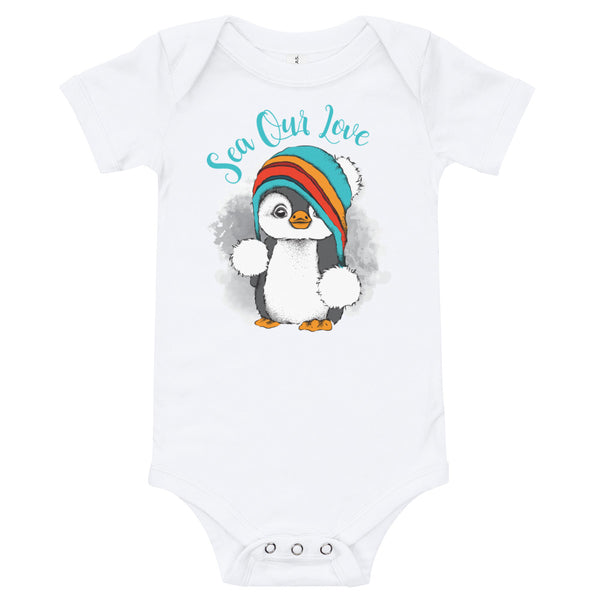 SEA OUR LOVE™ Baby Penguin One Piece