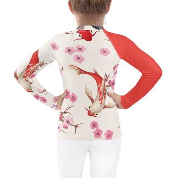 SEA OUR LOVE™ Koi Kid's Rash Guard