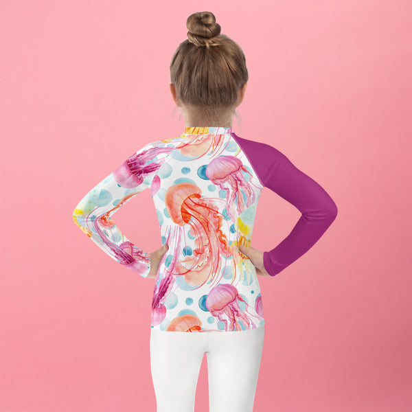 SEA OUR LOVE™ Jellyfish Kid's Rash Guard