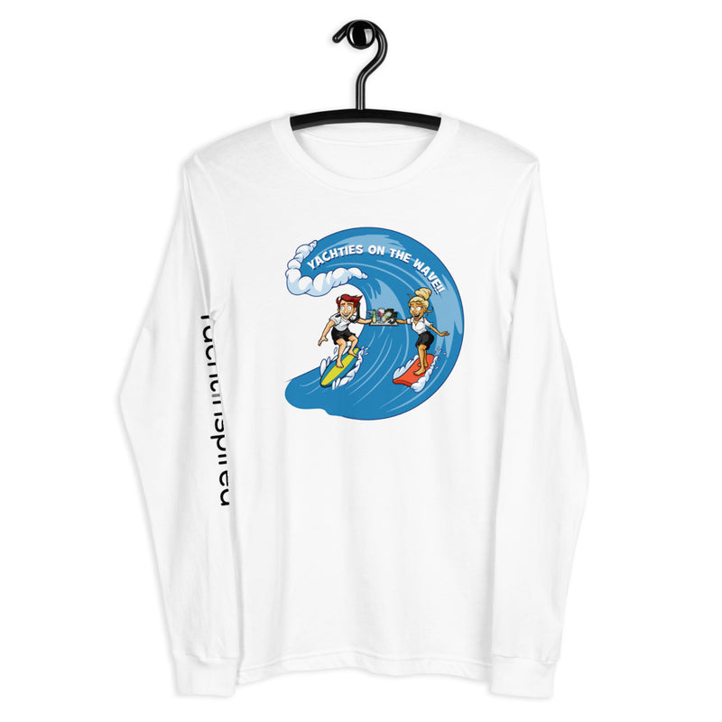 Yachties on the Wave Long Sleeve