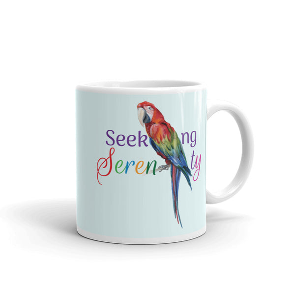 SILENT WHISPERS™ Seeking Serenity Mug