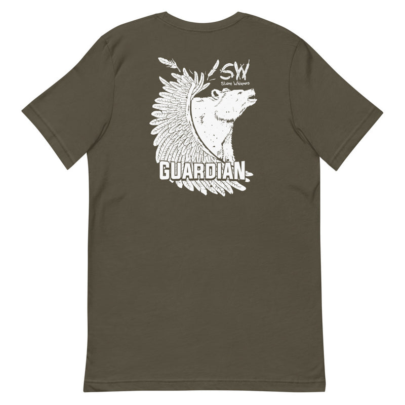 Grizzly Guardian Front & Back Design Tee