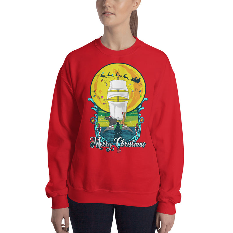 Merry Christmas From the Sea Sweatshirt
