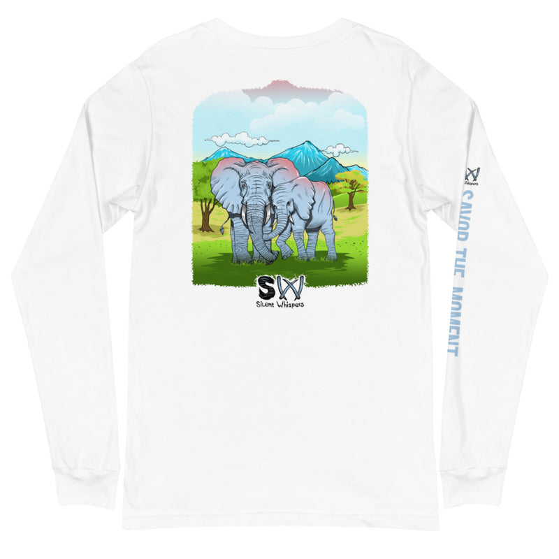 Savor the Moment Elephant Long Sleeve