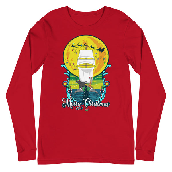 Merry Christmas from the Sea Long Sleeve Tee