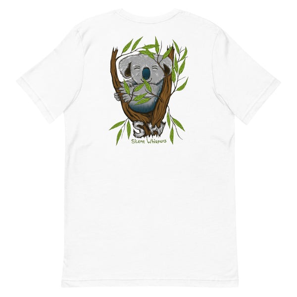 SILENT WHISPERS™ Sweet Koala Front & Back Design Tee