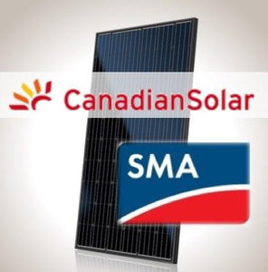 7kW PV Kit Canadian 295 All-Black, SMA Inverter