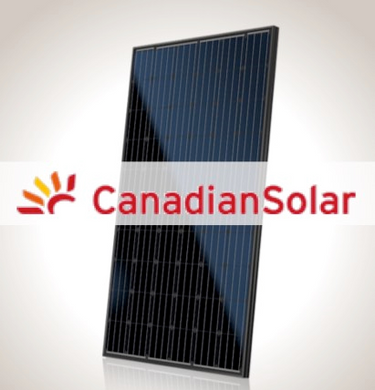 Canadian Solar 295 watt all-black panel