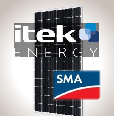 7.2 kW PV Kit iTek 360 XL, SMA Inverter
