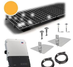 7 kW PV Kit Misson 295 All-Black, SMA Inverter