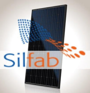 290 watt Silfab Solar Panel SLA290M-Black