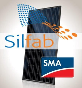 8 kW PV Kit Silfab 310 Black, SMA Inverter
