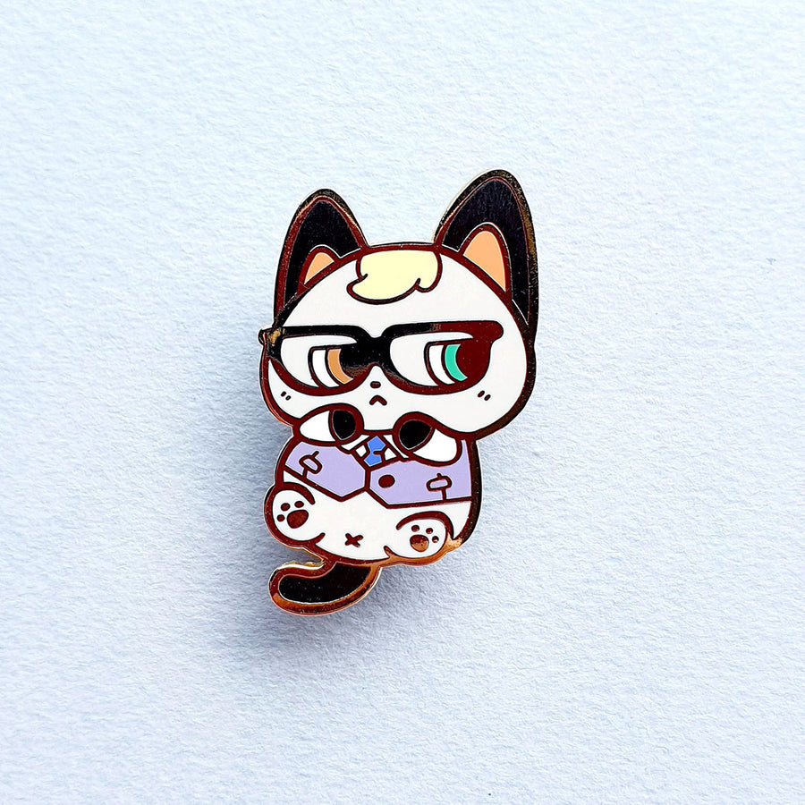 Animal Baby Business Kitty Pin