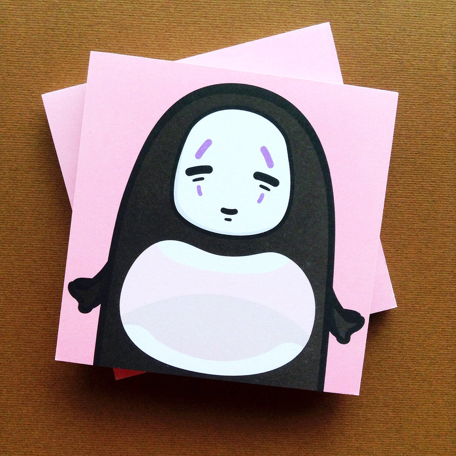 No Face Memo Pad