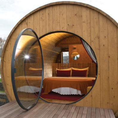 A Getaway Perfect for Wine Lovers! You Can Now Have a Vacation In A Giant Wine Barrel