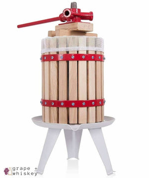 1.6 Gallon Wine Press - Grape + Whiskey - grapeandwhiskey.com