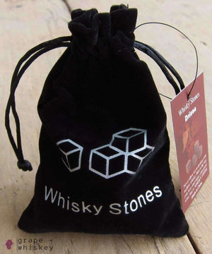 100% Natural Whiskey Stones - Grape + Whiskey - grapeandwhiskey.com