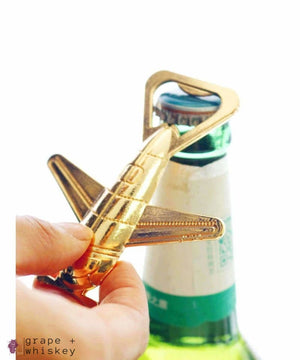 Aircraft Beer Opener -  - Grape and Whiskey