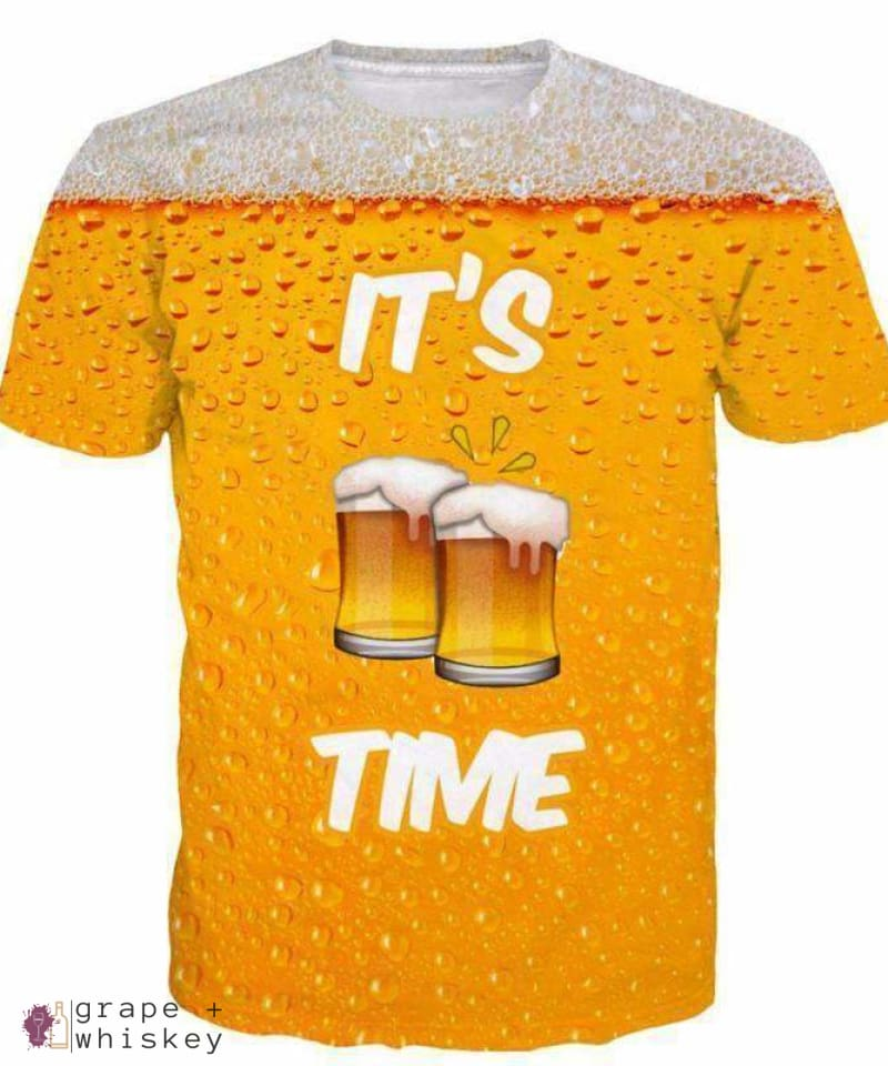 Beer Time Shirts - Grape + Whiskey - grapeandwhiskey.com