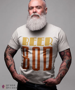 BeerBod Men's Short Sleeve T-shirt - Grape + Whiskey - grapeandwhiskey.com