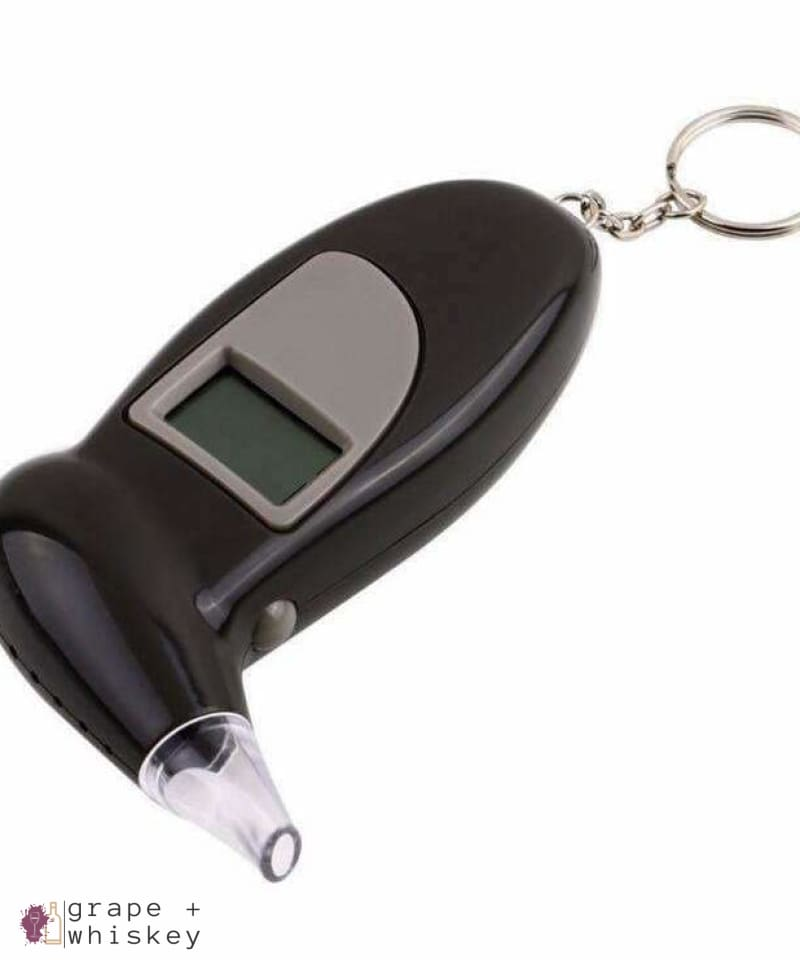 Digital Alcohol Breathalyzer Keychain - Default Title - Grape and Whiskey