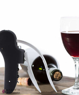 Easy Open Wine Corkscrew - Grape + Whiskey - grapeandwhiskey.com