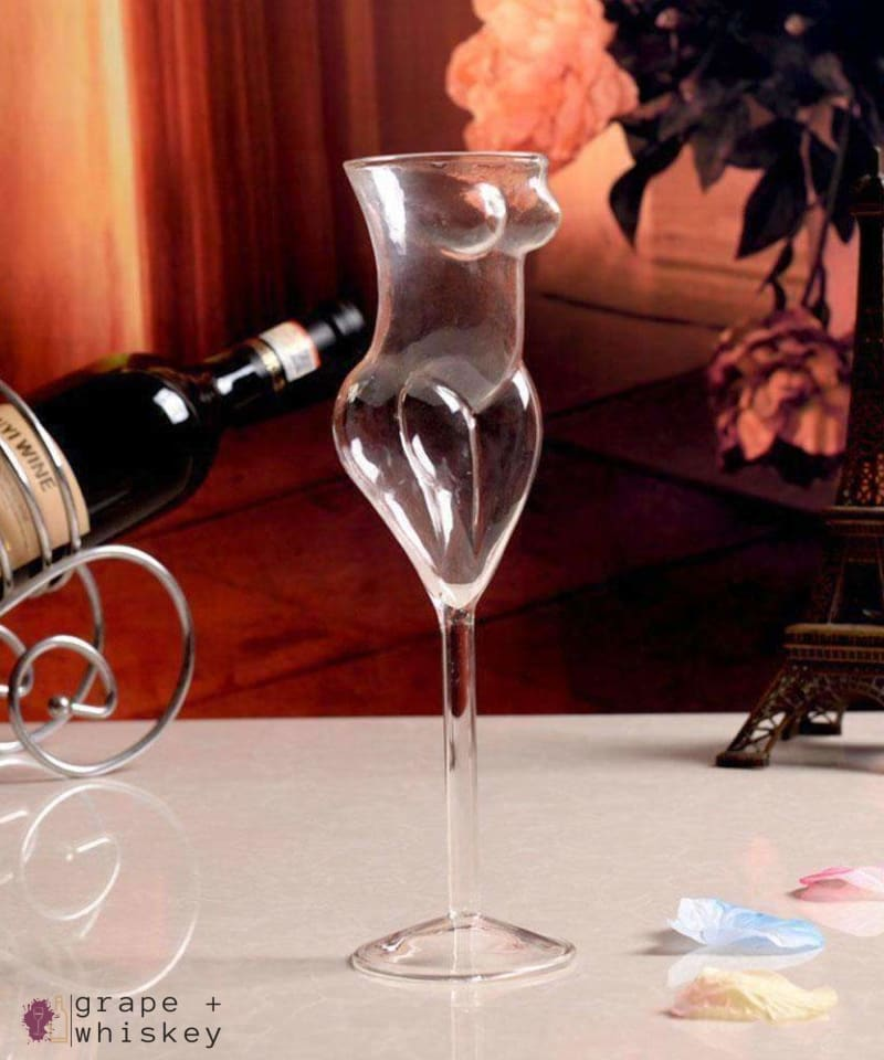 Full Figured Wine Glass -  - Grape and Whiskey