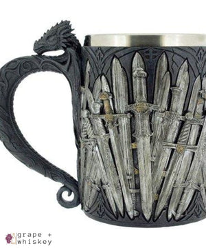 Game of Thrones Dragon Tankard - Default - Grape and Whiskey