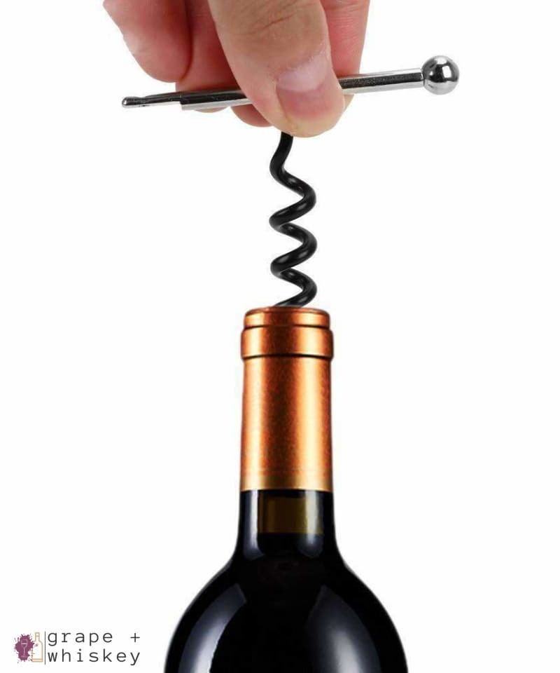 Key Ring Wine Bottle Opener - Grape + Whiskey - grapeandwhiskey.com