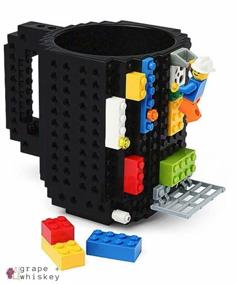 Lego Beer Mug - Drink Safe! -  - Grape and Whiskey