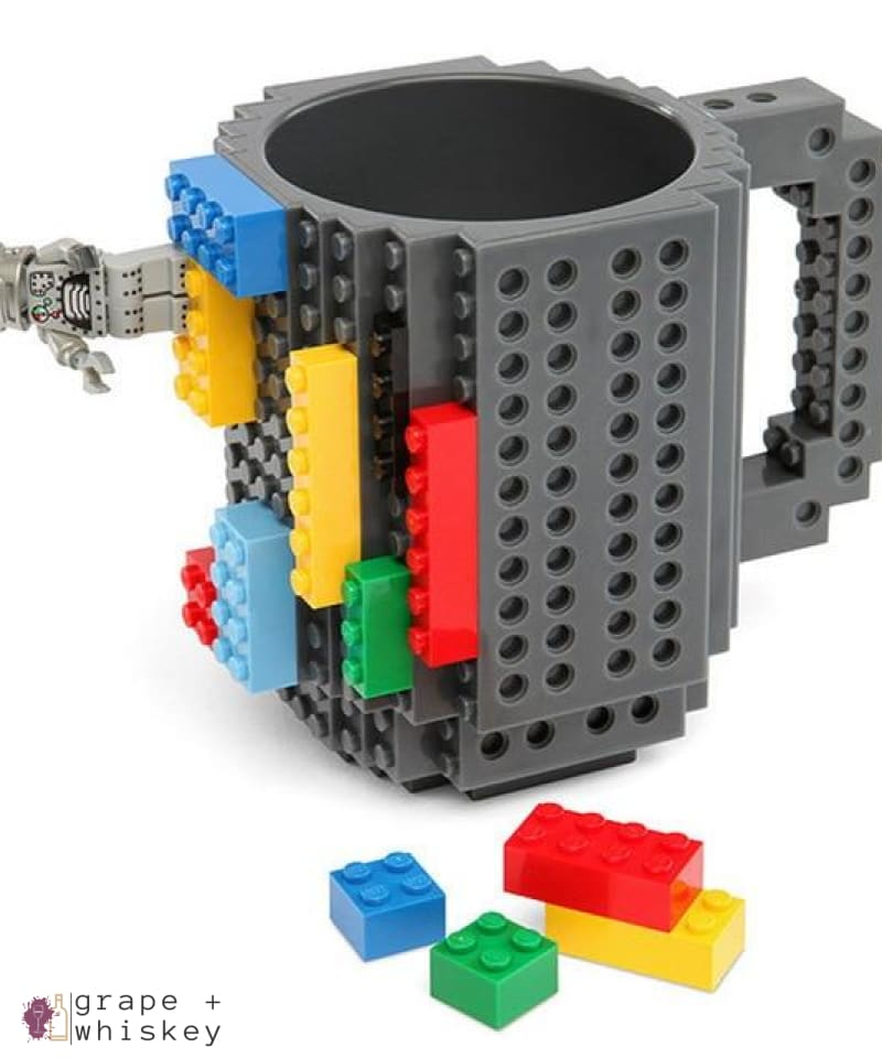 Lego Beer Mug - Drink Safe! - gray / 350 ml - Grape and Whiskey