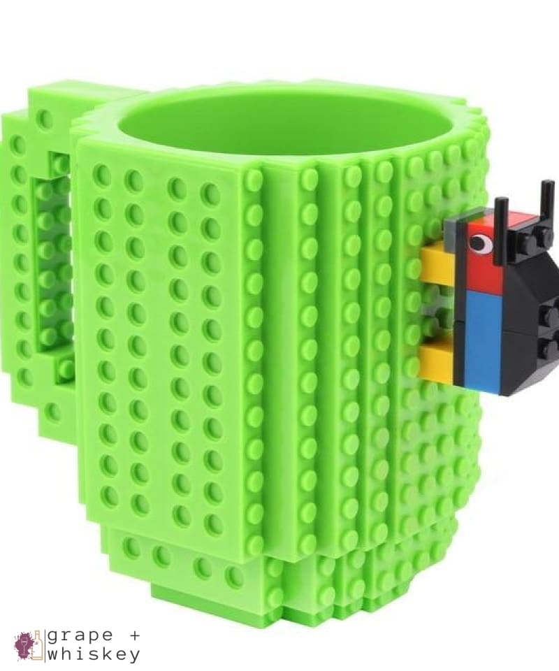 Lego Beer Mug - Drink Safe! - Green / 350 ml - Grape and Whiskey