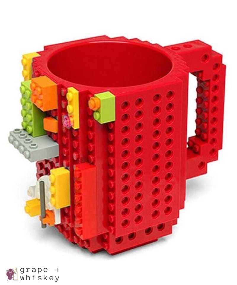 Lego Beer Mug - Drink Safe! - red / 350 ml - Grape and Whiskey