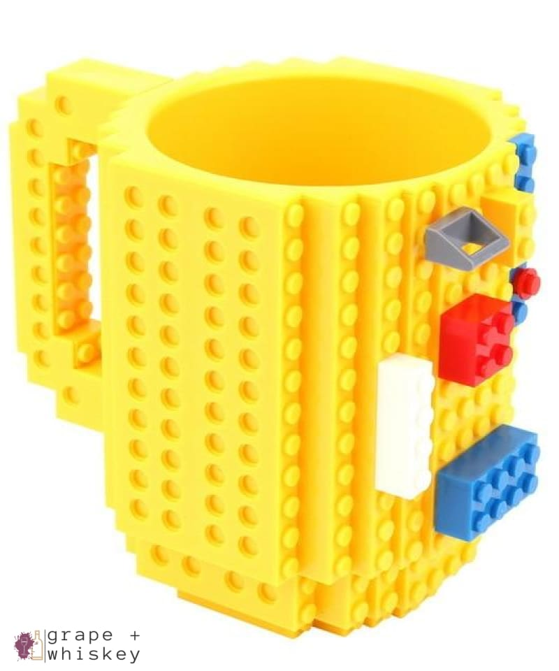 Lego Beer Mug - Drink Safe! - YELLOW / 350 ml - Grape and Whiskey